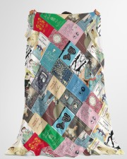 "Book Large Fleece Blanket - 60"" x 80"" aos-coral-fleece-blanket-60x80-lifestyle-front-10"