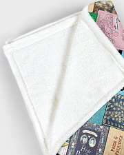 "Book Large Fleece Blanket - 60"" x 80"" aos-coral-fleece-blanket-60x80-lifestyle-front-12"