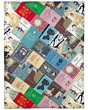 """Book Large Fleece Blanket - 60"""" x 80"""" front"""