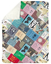 "Book Large Sherpa Fleece Blanket - 60"" x 80"" thumbnail"