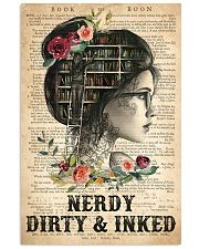 Tattoo Nerdy Dirty And Inked 16x24 Poster front