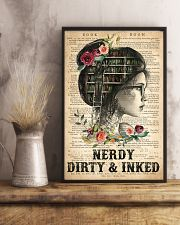 Tattoo Nerdy Dirty And Inked 16x24 Poster lifestyle-poster-3