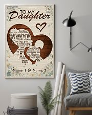 Family To My Daughter 16x24 Poster lifestyle-poster-1