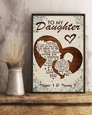 Family To My Daughter 16x24 Poster lifestyle-poster-3