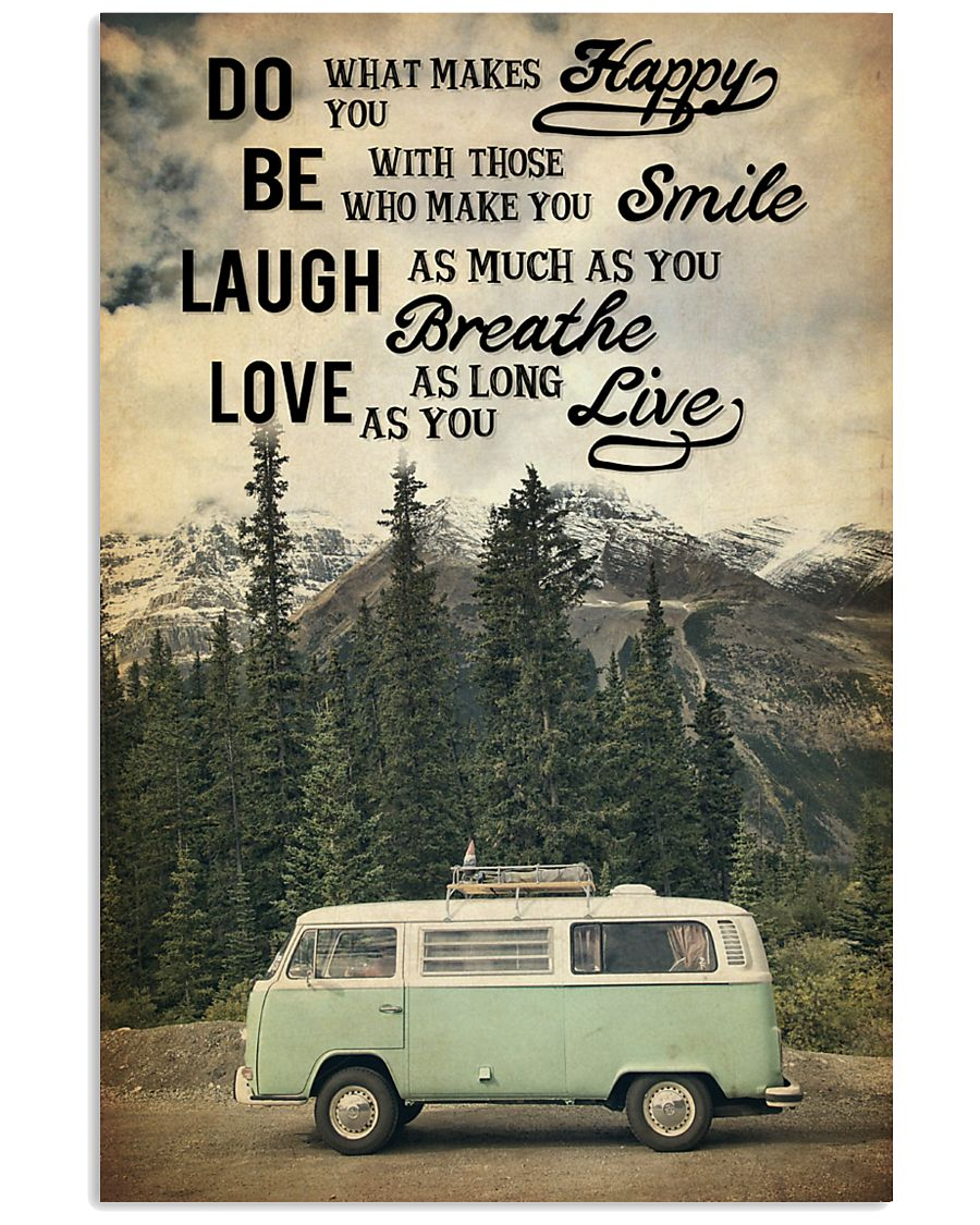 Camping Laugh Love Live 16x24 Poster