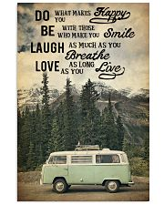 Camping Laugh Love Live 16x24 Poster front