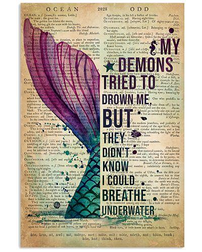Mermaid My Demons Tried To Drown Me