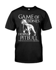 House Pitbull Classic T-Shirt front