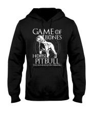 House Pitbull Hooded Sweatshirt thumbnail