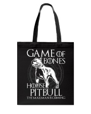 House Pitbull Tote Bag thumbnail