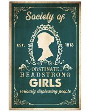 Book Obstinate Headstrong Girls 16x24 Poster front