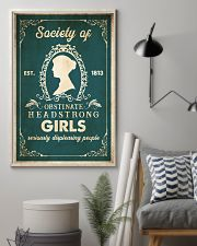 Book Obstinate Headstrong Girls 16x24 Poster lifestyle-poster-1