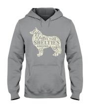 Life is better with shelties around Hooded Sweatshirt thumbnail
