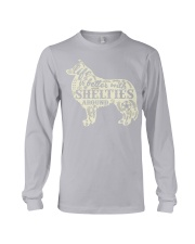 Life is better with shelties around Long Sleeve Tee thumbnail