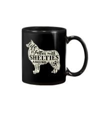 Life is better with shelties around Mug thumbnail