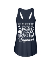 Engineer Ladies Flowy Tank front