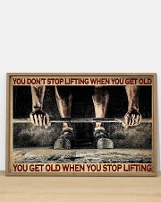 Fitness You Don't Stop Lifting 36x24 Poster poster-landscape-36x24-lifestyle-03