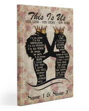 This is us 20x30 Gallery Wrapped Canvas Prints front