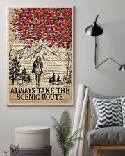 Hiking Always Take The Scenic Route 16x24 Poster lifestyle-poster-1