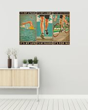 Triathlon It's Not A Phase It's My Life 36x24 Poster poster-landscape-36x24-lifestyle-01