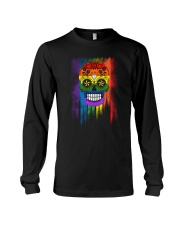 LGBT Day of the Dead Long Sleeve Tee thumbnail