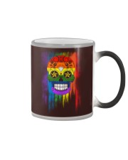 LGBT Day of the Dead Color Changing Mug thumbnail
