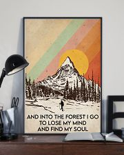 Hiking Find My Soul 16x24 Poster lifestyle-poster-2