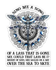 Book Sing Me A Song Sticker - Single (Vertical) front