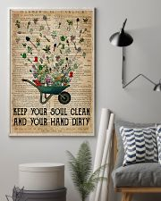 Garden Keep Your Soul Clean 16x24 Poster lifestyle-poster-1