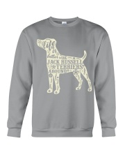 Life is better with jack russell terriers around Crewneck Sweatshirt thumbnail
