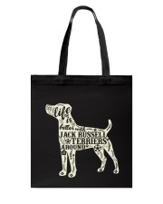 Life is better with jack russell terriers around Tote Bag thumbnail
