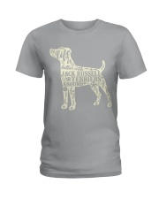 Life is better with jack russell terriers around Ladies T-Shirt thumbnail