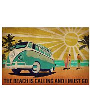 Ocean The Beach Is Calling 36x24 Poster front