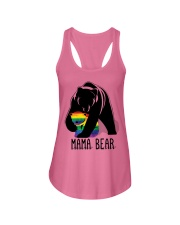 LGBT Mama Bear - Hoodie And T-shirt Ladies Flowy Tank tile