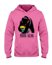 LGBT Mama Bear - Hoodie And T-shirt Hooded Sweatshirt front