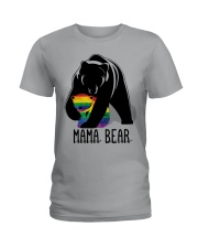 LGBT Mama Bear - Hoodie And T-shirt Ladies T-Shirt tile