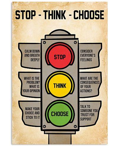 Mental Stop Think Choose