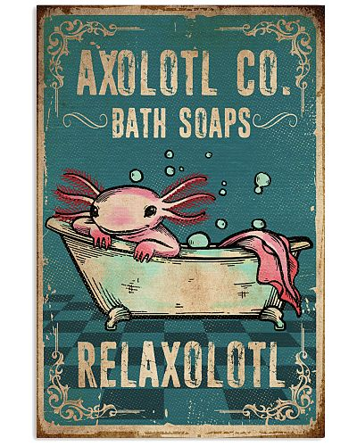 Animal Axolotl Co Bath Soaps