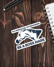Horse Be A Boss Mare Sticker - Single (Vertical) aos-sticker-single-vertical-lifestyle-front-05