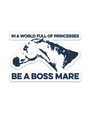 Horse Be A Boss Mare Sticker - Single (Vertical) front