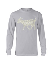 Life is better with goats around Long Sleeve Tee thumbnail