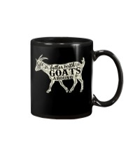 Life is better with goats around Mug thumbnail
