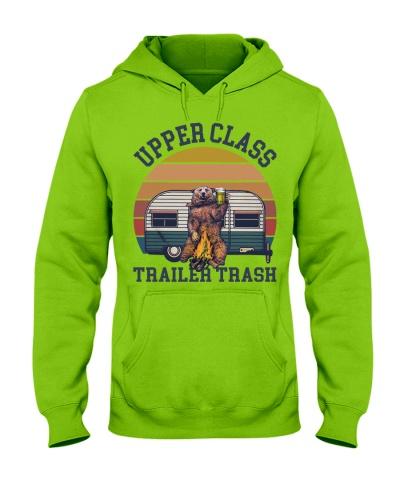 Camping Upper Class Trailer Trash