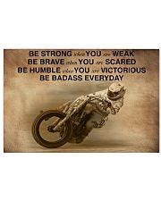 Racing Be Strong When You Are Weak 24x16 Poster front
