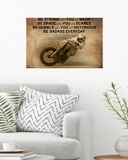 Racing Be Strong When You Are Weak 24x16 Poster poster-landscape-24x16-lifestyle-01