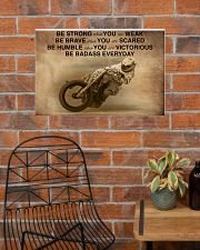 Racing Be Strong When You Are Weak 24x16 Poster poster-landscape-24x16-lifestyle-24