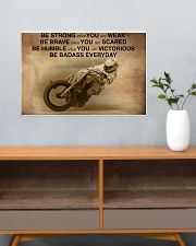 Racing Be Strong When You Are Weak 24x16 Poster poster-landscape-24x16-lifestyle-25