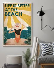 Ocean Life Is Better 16x24 Poster lifestyle-poster-1