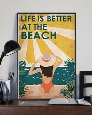Ocean Life Is Better 16x24 Poster lifestyle-poster-2