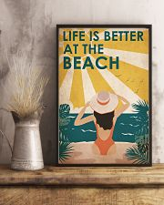 Ocean Life Is Better 16x24 Poster lifestyle-poster-3